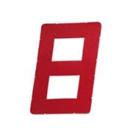 "LASER PERFORMANCE OPTI SAIL NUMBER 9"" RED LP95844"