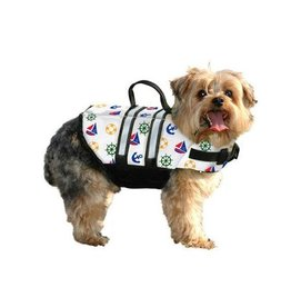PAWS ABOARD DOG VEST XXS NAUTICAL *CLEARANCE*