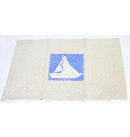 BATH MAT SAILBOAT