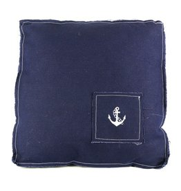 CUSHION NAVY ANCHOR
