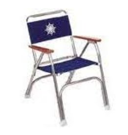 DECK CHAIR BLUE WHEEL