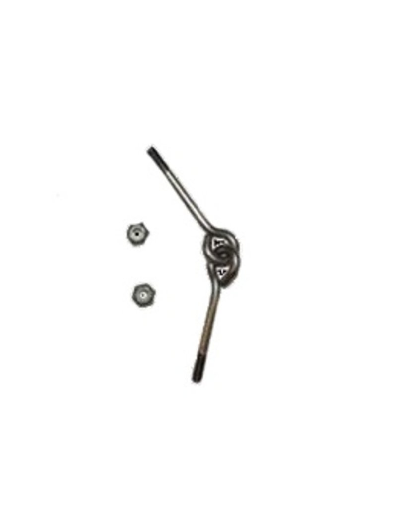 LASER PERFORMANCE SUNFISH EYEBOLT SET INTERLOCKING LP90412