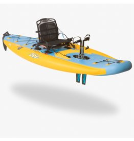 HOBIE® HOBIE MIRAGE INFLATABLE SINGLE 11' KAYAK i11S 2017 (MANGO/SLATE)