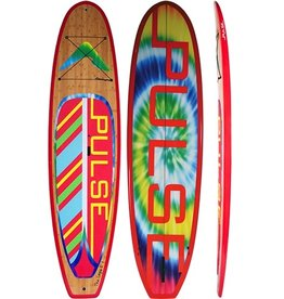 """PULSE PULSE TRADITIONAL 10""""4"""" STANDUP PADDLEBOARD PACKAGE (LOGIE)"""