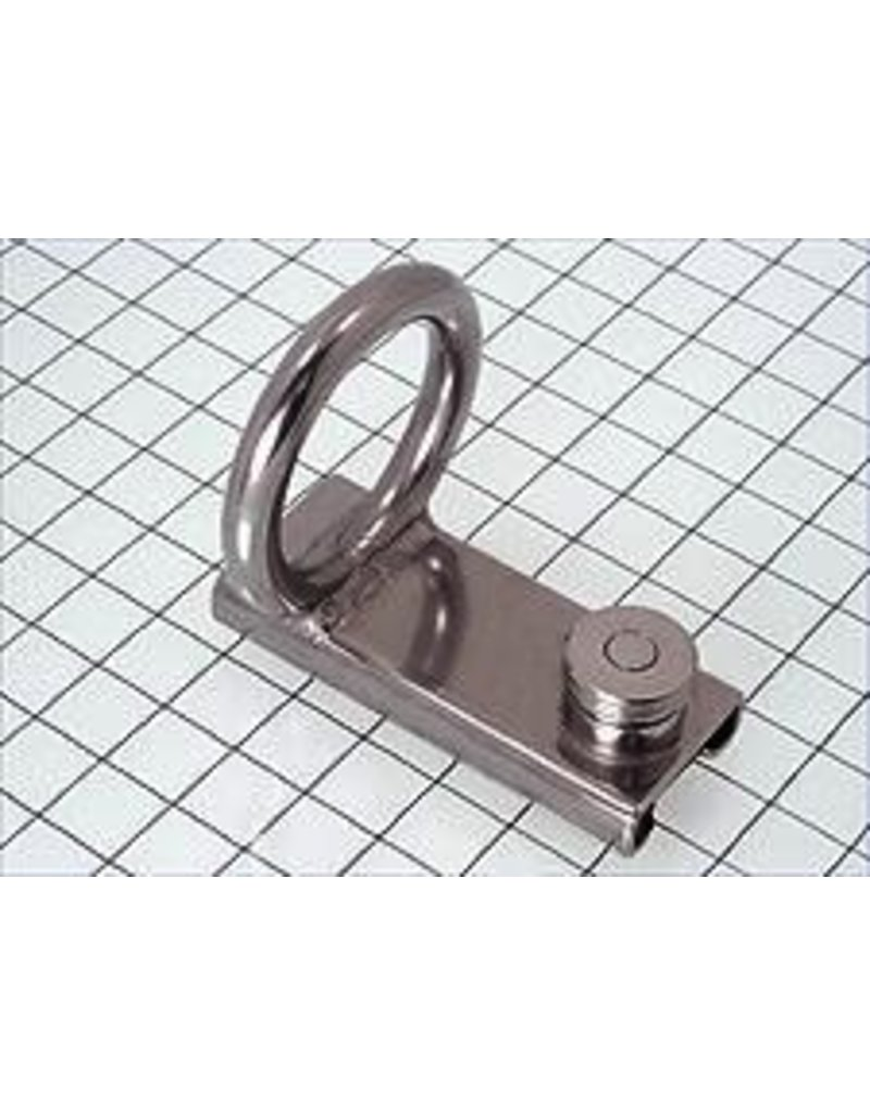 "SCHAEFER SPINNAKER POLE SLIDE 1 1/4"" WITH RING"