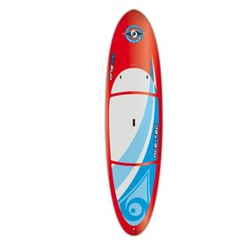 BIC SUP ACE-TEC 10'6 PERFORMER RED STANDUP PADDLEBOARD (RED)