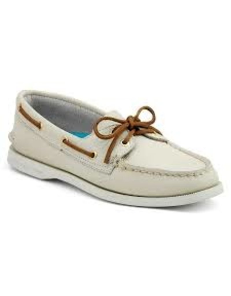 SPERRY SPERRY AUTHENTIC ORIGINAL IVORY BOAT SHOE (WOMEN'S)