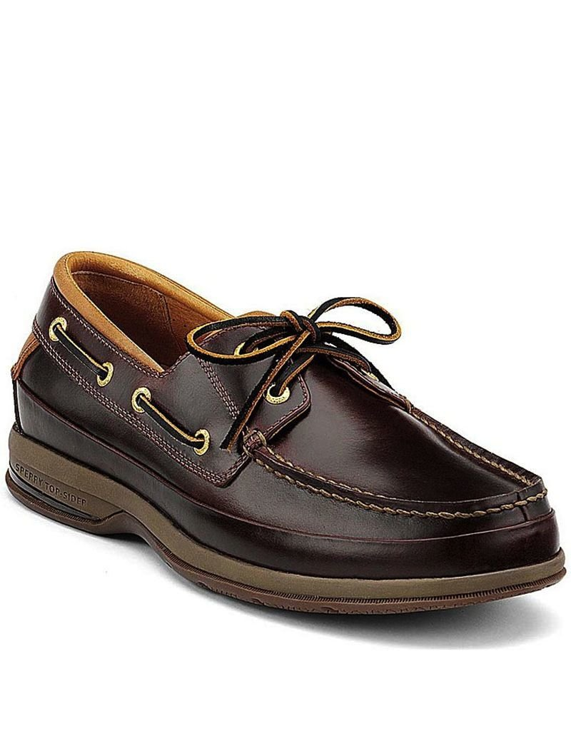 SPERRY SPERRY GOLD ASV AMARETTO BOAT SHOE (MEN'S) *CLEARANCE*