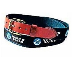 NORTH SAILS NORTH SAILS LEATHER TAB BELT