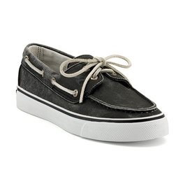 SPERRY SPERRY BAHAMA BLACK CANVAS BOAT SHOE (WOMEN'S) *CLEARANCE*