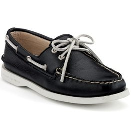 SPERRY SPERRY AUTHENTIC ORIGINAL BLACK BOAT SHOE (WOMEN'S)