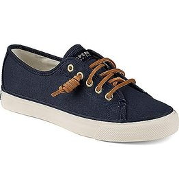 SPERRY SPERRY SEACOAST NAVY CANVAS BOAT SHOE (WOMEN'S) *CLEARANCE*