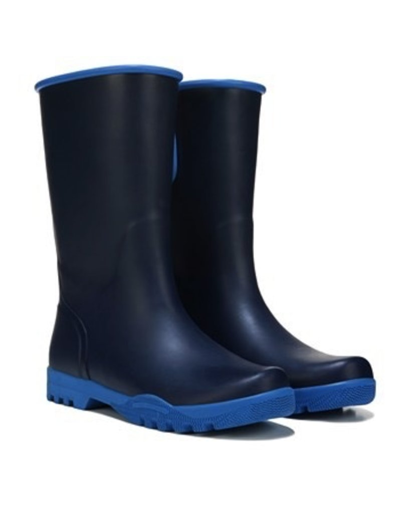 SPERRY SPERRY NELLIE NAVY / BRIGHT BLUE RAIN BOOT (WOMEN'S ...