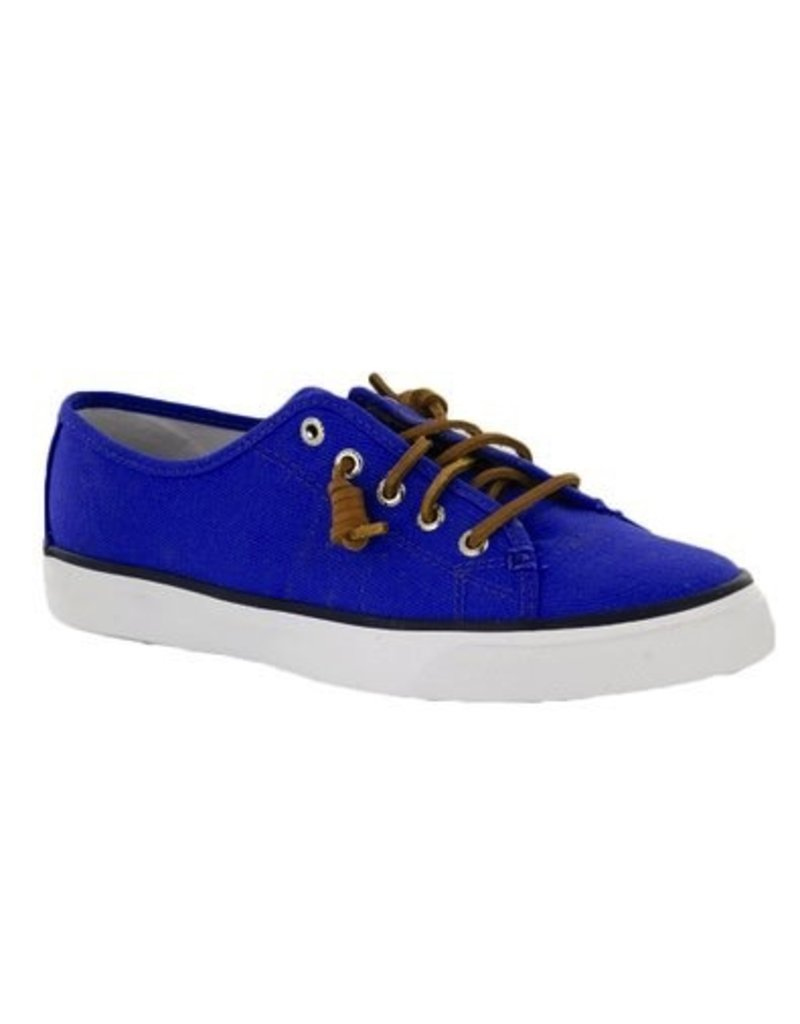 SPERRY SPERRY SEACOAST BALTIC BLUE CANVAS BOAT SHOE (WOMEN'S) *CLEARANCE*