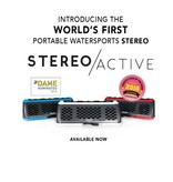 FUSION FUSION STEREOACTIVE PORTABLE WATERSPORT STEREO *NEW*