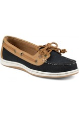 SPERRY SPERRY FIREFISH BLACK CANVAS / TAN BOAT SHOE (WOMEN'S) *CLEARANCE*