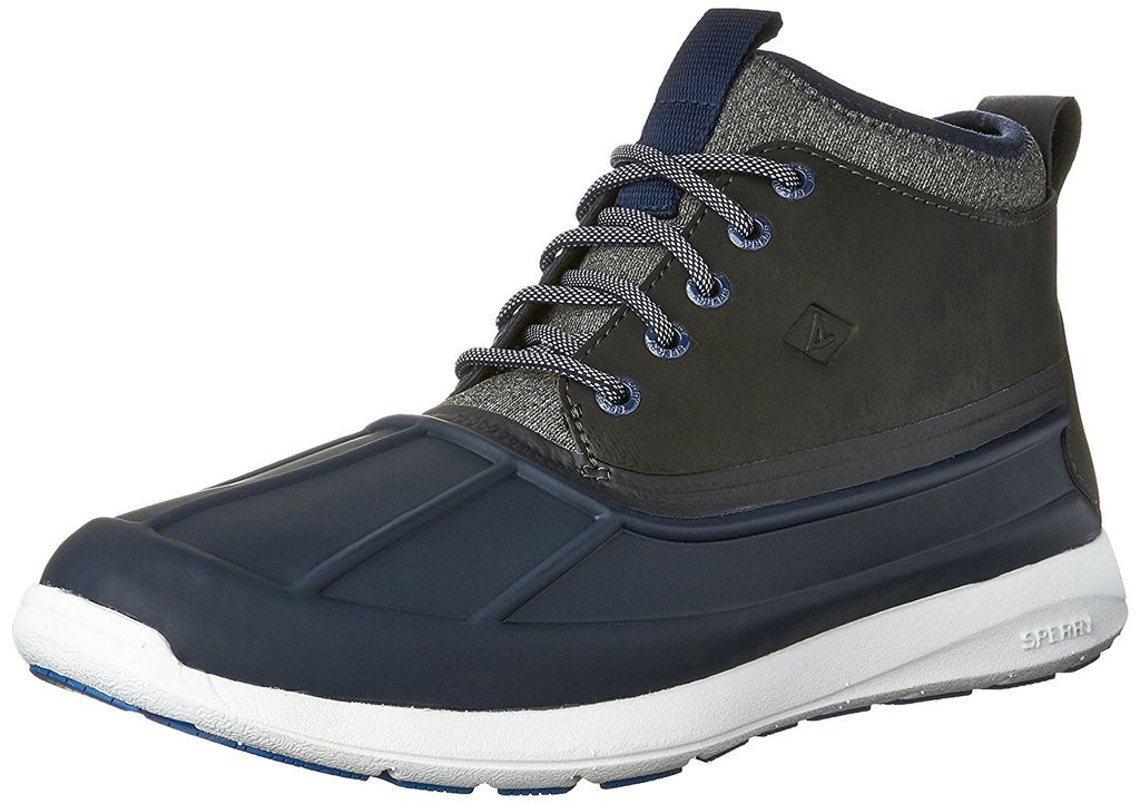 SPERRY SOJOURN NAVY DUCK BOOT MENS CLEARANCE
