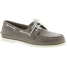 SPERRY SPERRY AUTHENTIC ORIGINAL SARAPE GREY BOAT SHOE (MEN'S) *CLEARANCE*
