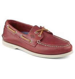 SPERRY SPERRY AUTHENTIC ORIGINAL SARAPE RED BOAT SHOE (MEN'S) *CLEARANCE*