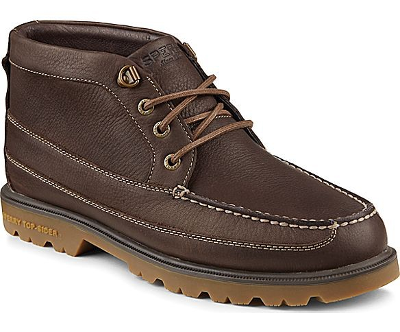 SPERRY SPERRY AUTHENTIC ORIGINAL BROWN LUG CHUKKA BOOT (MEN'S) *CLEARANCE*