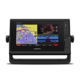 """GARMIN GARMIN GPSmap 7"""" CHARTPLOTTER TOUCHSCREEN 742 W/ BLUECHART G2 MAP"""