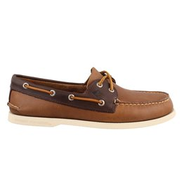 SPERRY SPERRY AUTHENTIC ORIGINAL SARAPE TAN/BROWN BOAT SHOE (MEN'S)