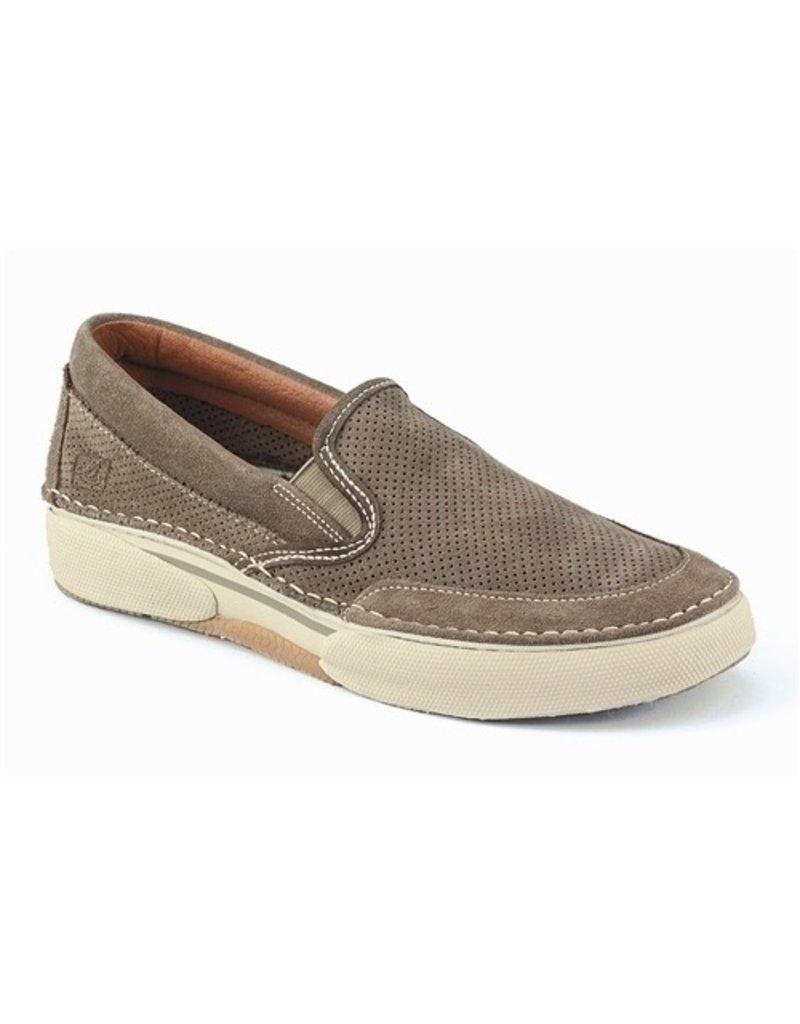 sperry largo slipon suede boat shoe mens yacht shop