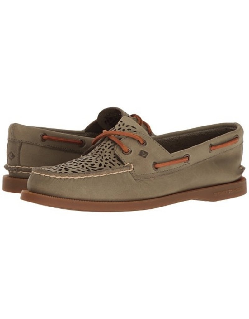 SPERRY SPERRY AUTHENTIC ORIGINAL PERFORATED VILLA OLIVE (WOMEN'S)