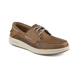 SPERRY SPERRY GAMEFISH 3 EYE DARK TAN BOAT SHOE (MEN'S)