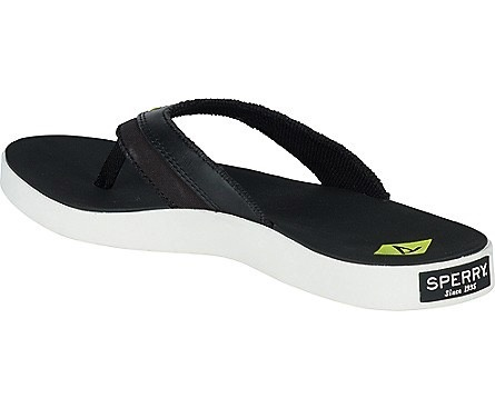 SPERRY SPERRY WAHOO BLACK THONG SANDAL (MEN'S) *CLEARANCE*