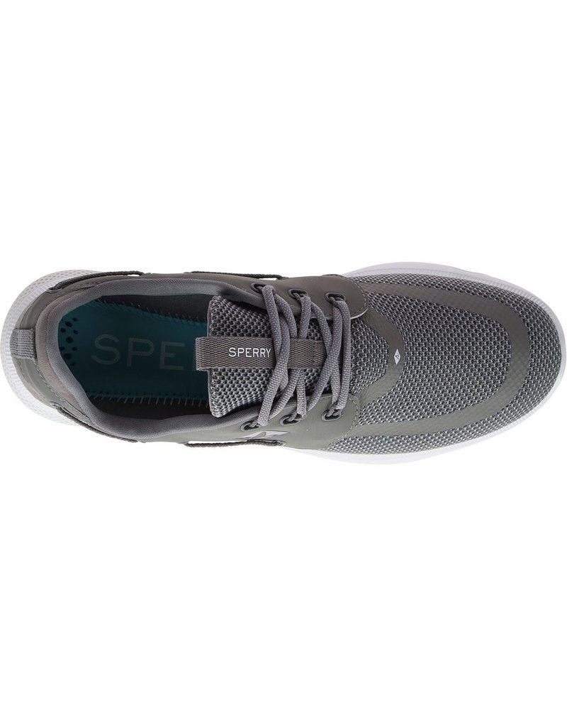 SPERRY SPERRY SEVEN SEAS GREY PERFORMANCE SHOE (MEN'S)