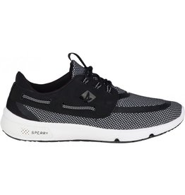 SPERRY SPERRY SEVEN SEAS BLACK/WHITE PERFORMANCE SHOE (MEN'S)
