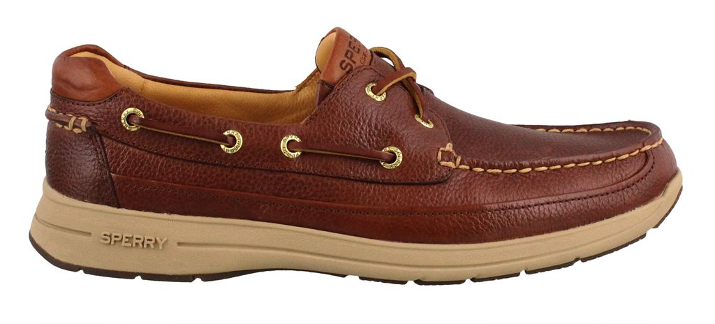 SPERRY SPERRY GOLD CUP BOAT LITE ASV COGNAC BOAT SHOE (MEN'S) *CLEARANCE*