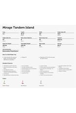 HOBIE® HOBIE® MIRAGE® TANDEM ISLAND 18' KAYAK 2017