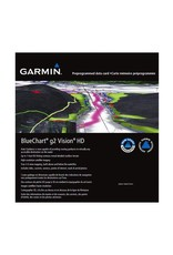 GARMIN GARMIN BLUECHART G2 VISION HD MAPS FOR CANADA *SELECT REGION*