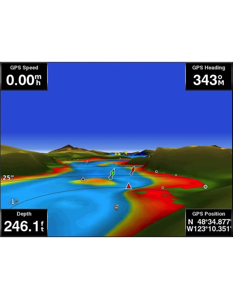 GARMIN GARMIN BLUECHART G2 VISION HD MAPS FOR CANADA *SELECT REGION*