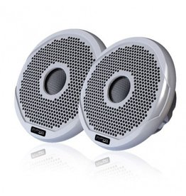 "FUSION FUSION 6"" 2 WAY MARINE SPEAKERS 200W FR6021 (BLACK / WHITE)"