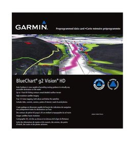 GARMIN GARMIN BLUECHART G2 VISION HD MAPS FOR USA *SELECT REGION*