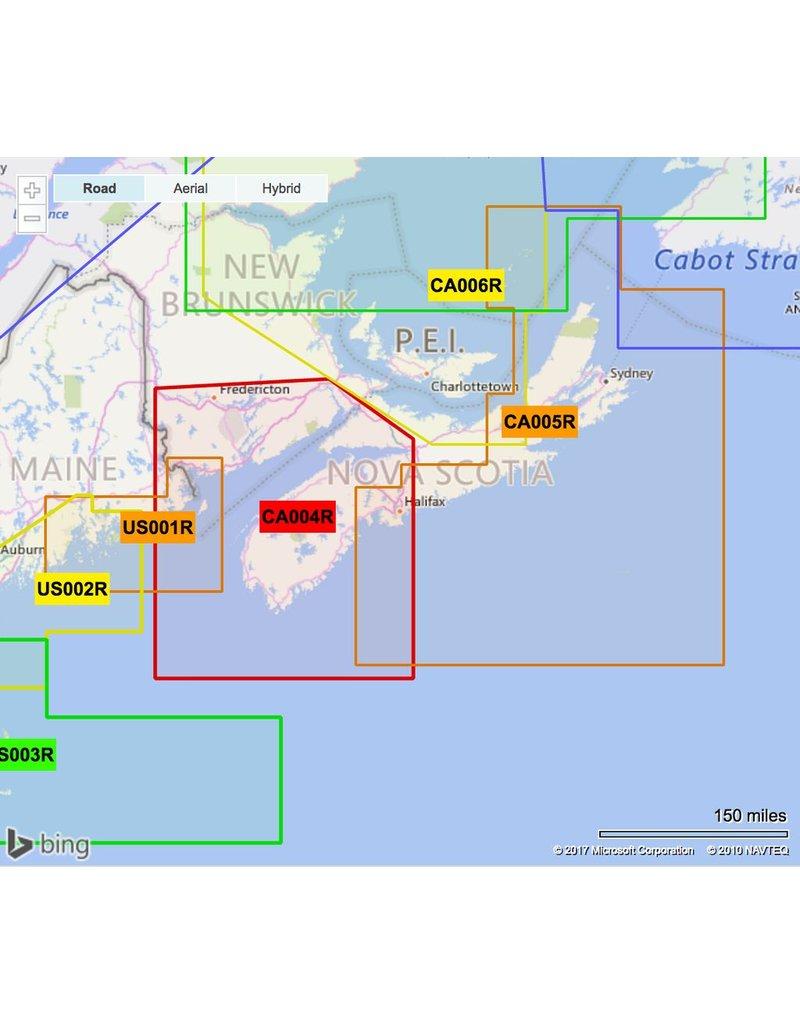 GARMIN GARMIN BLUECHART G2 VISION HD MAPS FOR USA *SELECT REGION*