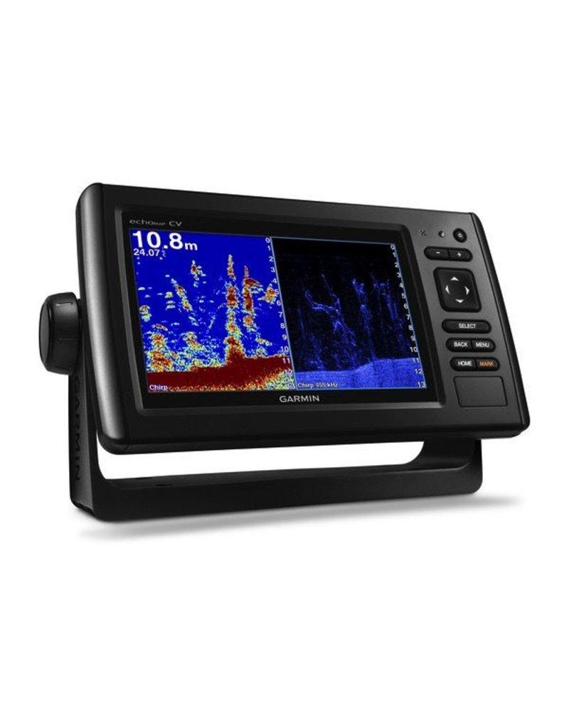 "GARMIN GARMIN echoMAP CHIRP 7"" GPS PLOTTER/FISHFINDER CLEARVU SONAR TRANSDUCER 75CV"