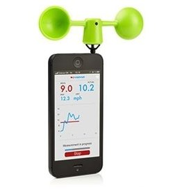 VAAVUD VAAVUD MJOINIR WINDMETER FOR SMARTPHONE GREEN