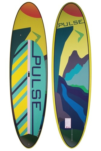 PULSE PULSE REC-TECH 11' STANDUP PADDLEBOARD ONLY (CANYON)