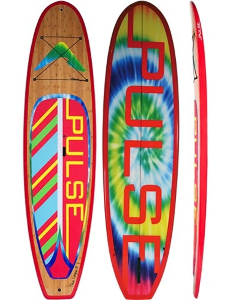 "PULSE PULSE TRADITIONAL 10""4"" STANDUP PADDLEBOARD PACKAGE (LOGIE)"