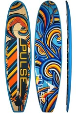 """PULSE PULSE TRADITIONAL 10""""4"""" STANDUP PADDLEBOARD PACKAGE (JACKIE)"""