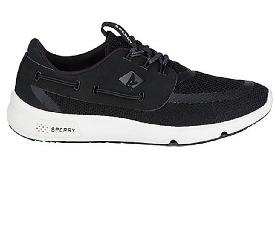 SPERRY SPERRY SEVEN SEAS BLACK PERFORMANCE SHOE (MEN'S)