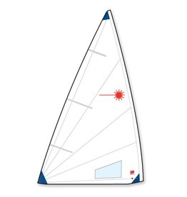 LASER PERFORMANCE LASER RADIAL FOLDED NORTH SAIL LP94108 (BATTENS NOT INCLUDED) *BASED ON AVAILABILITY*