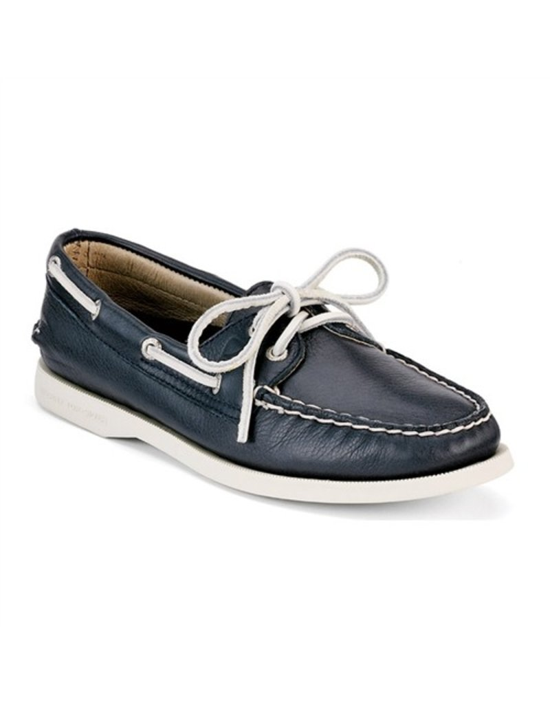SPERRY SPERRY AUTHENTIC ORIGINAL NAVY BOAT SHOE (WOMEN'S) *CLEARANCE*
