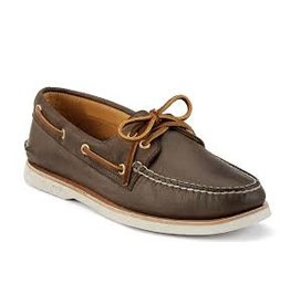 SPERRY SPERRY GOLD AUTHENTIC ORIGINAL 2 EYE BROWN (MEN'S)