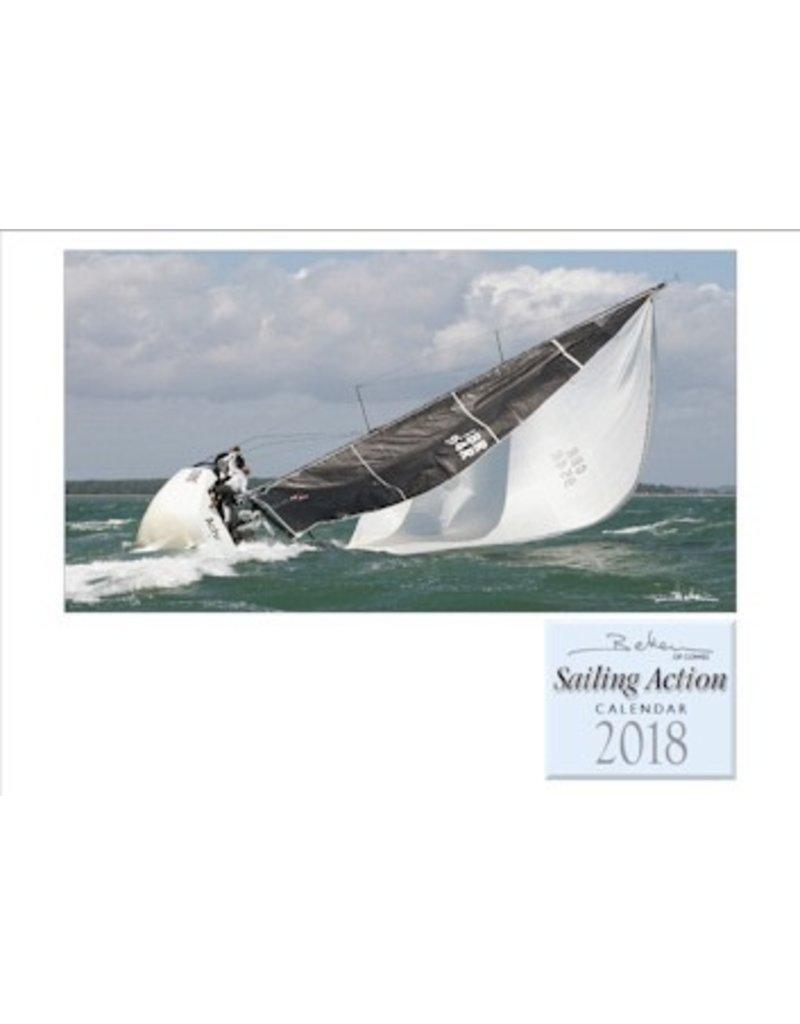 NAUTICALIA CALENDAR BEKEN SAILING ACTION 2018 (SHIPS MID-NOVEMBER)