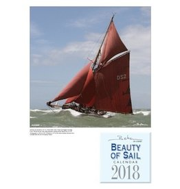NAUTICALIA CALENDAR BEKEN BEAUTY OF SAIL 2018 (SHIPS MID-NOVEMBER)